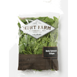 Photo of Hunt Farm Baby Spinach 150g