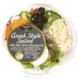 Photo of Taylor Greek Salad Bowl 120g