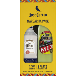 Photo of Jose Cuervo Tequila Especial Silver & Margarita Mix