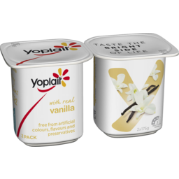 Photo of Yoplait Yoghurt  Vanilla 2x175gm