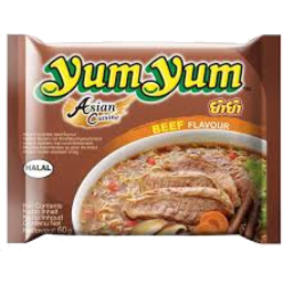 Photo of YUM YUM INSTANT NOODLE BEEF #60GM