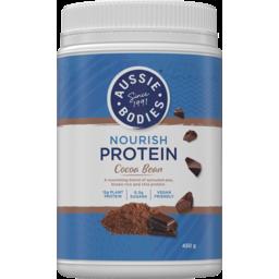 Photo of Aussie Bodies Cocoa Bean Nourish Protein Powder 450g