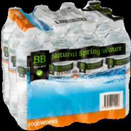 Photo of BEST BUY SPRNG WATER 12X600 ML