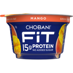 Photo of Chobani Fit Mango Greek Yogurt 170g