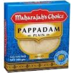 Photo of Maharajahs Choice Pappadam Plain 100g