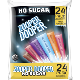 Photo of Zooper Dooper No Sugar 24x70ml