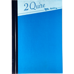 Photo of 2 Quire Long Hardcover Book