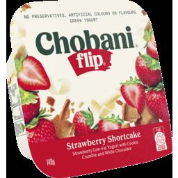 Photo of Chobani Flip Greek Yogurt Strawberry Shortcake 140g