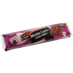 Photo of Arnott's Biscuits Monte Carlo Black Forest 250g