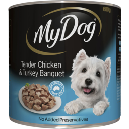 Photo of My Dog Tender Chicken And Turkey Banquet 680g