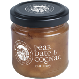 Photo of Snowdonia Chitney Pear Date and Cognac 114g