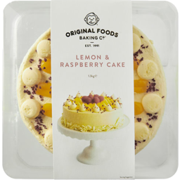 Photo of Original Foods Cake Lemon & Raspberry