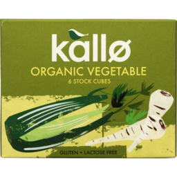 Photo of Kallo Organic Stock Cubes Vegetable 66g