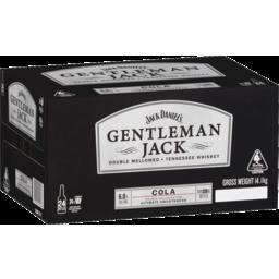 Photo of Jack Daniels Gentleman Jack & Cola 330ml 24 Pack