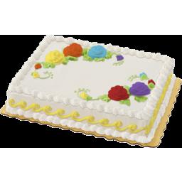 Photo of Chocolate - Vanilla 1/4 Sheet Cake