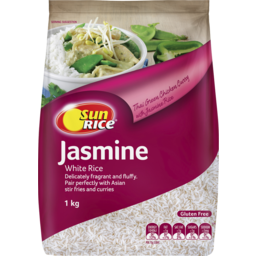 Photo of Sunrice Jasmine White Rice 1kg