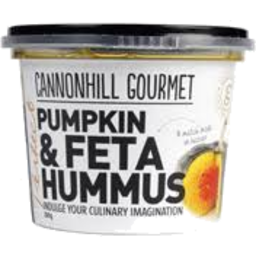 Photo of Cannonhill Hummus Pumpkin & Feta 250g