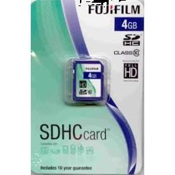 Photo of Fujifilm SDHC 4GB Memory Card