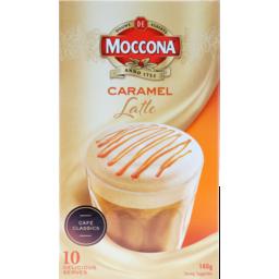 Photo of Moccona Caramel Latte 10pk