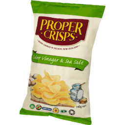 Photo of Proper Crisps Cider Vinegar & Salt 140g