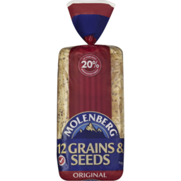 Photo of Molenberg Original Sandwich Grain & Seeds Sliced Bread 700g