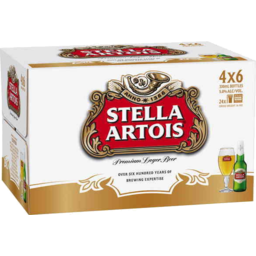 Photo of Stella Artois Bottle 24x330ml