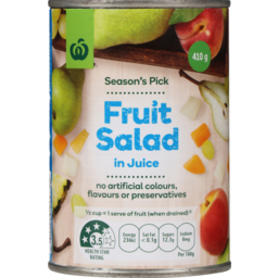 Photo of Select Fruit Salad in Juice 410g
