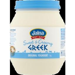 Photo of Jalna Yoghurt Swt Creamy Greek 1kg