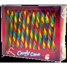 Photo of Xmas Star Candy Cane Rainbow 144g