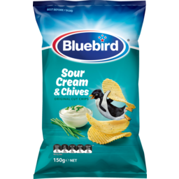 Photo of Bluebird Originals Potato Chips Sour Cream & Chives 150g