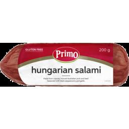 Photo of Primo Hungarian Salami 200g