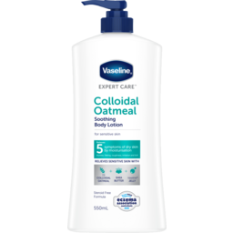 Photo of Vaseline Expert Care Body Lotion Colloidal Oatmeal Soothing 550.000 Ml