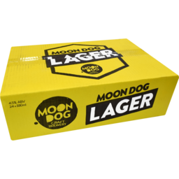 Photo of Moon Dog Lager Slab