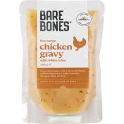 Photo of Bare Bones Free Range Chicken Gravy With White Wine 200g