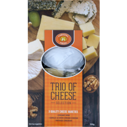 Photo of Chrystal Fresh Trio Of Cheese 335g