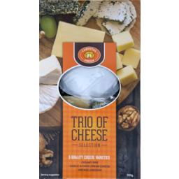 Photo of Chrystal Fresh Trio Cheese Selection 330g
