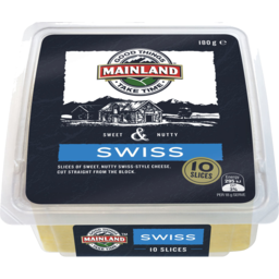 Photo of Mainland Swiss Cheese Slices 180 G