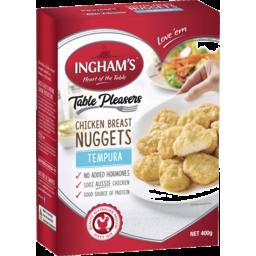 Photo of Ingham's Chicken Breast Nuggets Tempura 400g