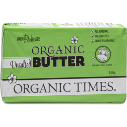 Photo of Organic Times Butter - Unsalted