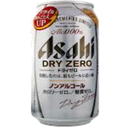 Photo of Asahi Beer Dry Zero 350ml