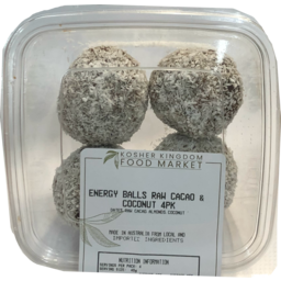 Photo of Market Food Bar Energy Balls Raw Cacao & Coconut 4pk