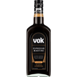 Photo of Vok Espresso Martini Liqueur 500ml