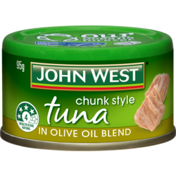 Photo of John West Chunk Style Tuna In Olive Oil 95g