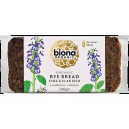 Photo of Biona Bread Rye Chia Flaxseed 500g