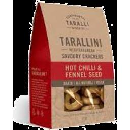 Photo of Tarallini Hot Chilli & Fennel Seed 125g