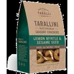 Photo of Tarallini Lemon Myrtle & Sesame 125g