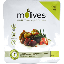Photo of Molives Olives Rosemary Chilli 40g