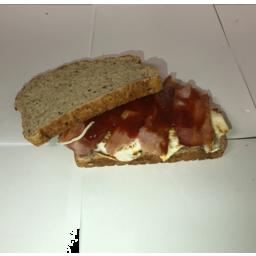 Photo of Bacon Egg & Relish Sandwich