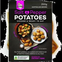 Photo of Love Potatoes Salt & Pepper Cooked Potatoes 250g