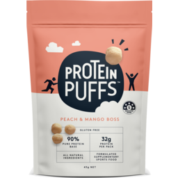 Photo of Protein Puffs Peach Mango 43g